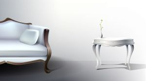 White Elegance HD Desktop Background